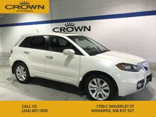 2011_Acura_RDX_Tech Package **No Accidents** Turbo** Navigation** Heated Leather Seats** Sunroof**_ Winnipeg MB