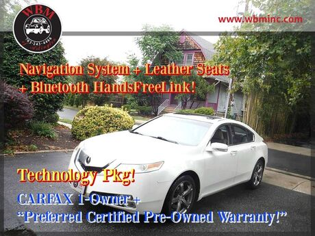 2011 Acura TL SH-AWD w/ Technology Package Arlington VA