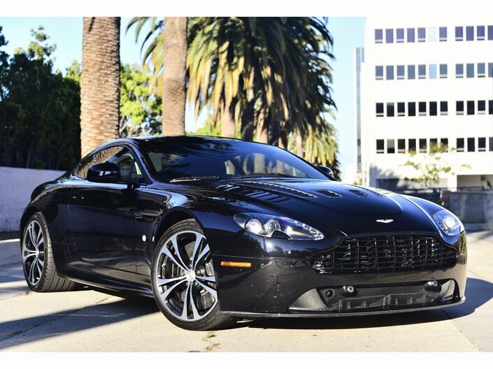 2011 Aston Martin V12 Vantage Coupe  Beverly Hills CA
