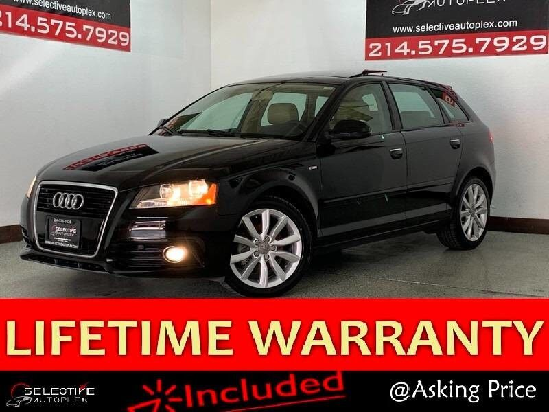 2011 Audi A3 2.0 TDI Premium, LEATHER SEATS, MOONROOF, HEATED FRONT SEATS Carrollton TX