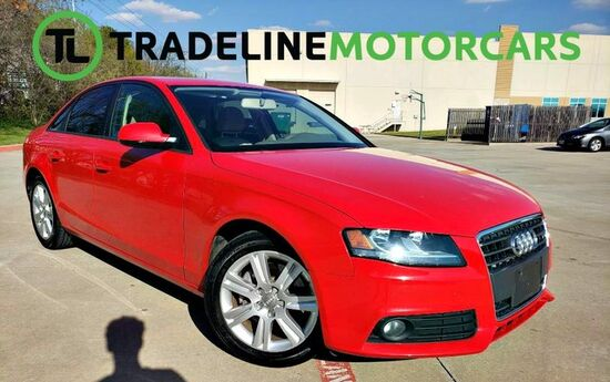2011 Audi A4 2.0T Premium SUNROOF, LEATHER, BLUETOOTH, AND MUCH MORE!!! CARROLLTON TX