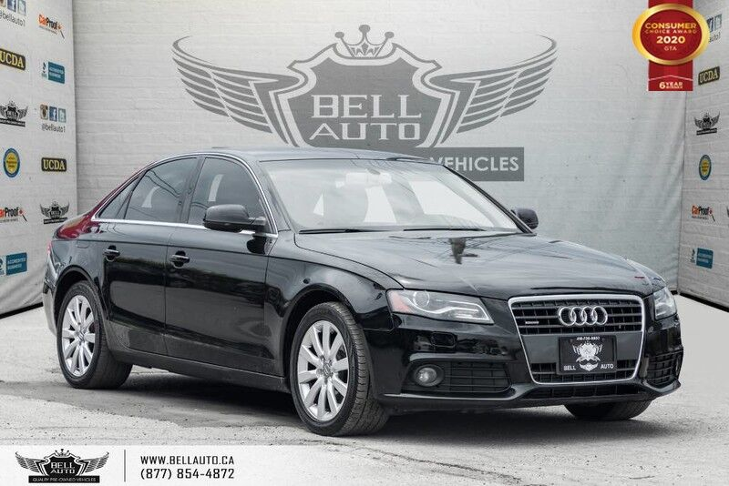 2011 Audi A4 2.0T Premium, SUNROOF, LEATHER, HEATED & PWR SEAT, BLUETOOTH