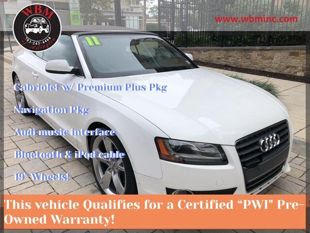 2011 Audi A5 2.0T Premium Plus Cabriolet Arlington VA