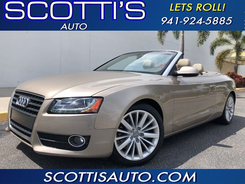 2011 Audi A5 2.0T Prestige EDITION~ CONVERTIBLE~ ONLY 39K MILES!!~ CLEAN CARFAX~ POWER CONVERTIBLE TOP~ EXCELLENT CONDITION~ FINANCE AND SHIPPING AVAILABLE!
