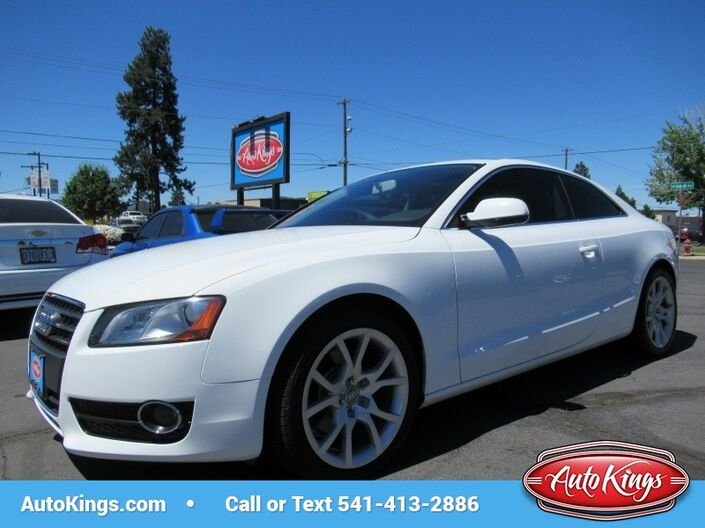 2011 Audi A5 2.0T Quattro Premium Coupe Bend OR