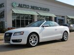 2011 Audi A5 Cabriolet 2.0T FrontTrak Multitronic LEATHER SEATS, POWER TOP, AM/FM RADIO, CRUISE, BLUETOOTH