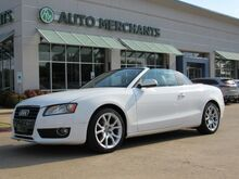 2011_Audi_A5_Cabriolet 2.0T FrontTrak Multitronic LEATHER SEATS, POWER TOP, AM/FM RADIO, CRUISE, BLUETOOTH_ Plano TX