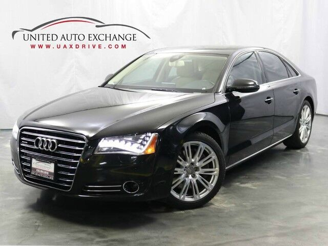 2011 Audi A8 4.2L V8 Engine / AWD Quattro / Navigation / Parking Aid with Rear View Camera / Bluetooth / Bang and Olufsen Premium Sound System Addison IL