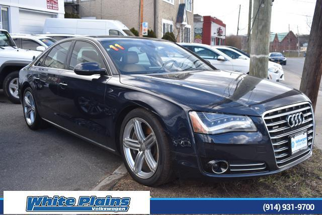 2011 Audi A8 4dr Sdn White Plains NY