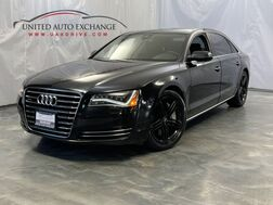 2011_Audi_A8 L_4.2L V8 Engine / AWD Quattro / Navigation / Sunroof / Bluetooth / Heated and Ventilated Seats / BOSE Sound System / Push Start_ Addison IL