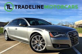 2011_Audi_A8 L_HEATED STEERING WHEEL, PANO SUNROOF, HEATED AND COOLED SEATS, NAVIG_ CARROLLTON TX