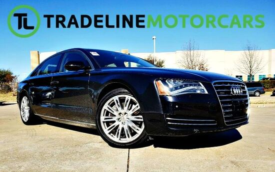2011 Audi A8 L LEATHER, NAVIGATION, SUNROOF, AND MUCH MORE!!! CARROLLTON TX
