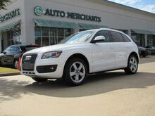 2011_Audi_Q5_2.0 PREMIUM PLUS, LEATHER SEATS, NAVIGATION SYSTEM,  SAT RADIO, PANORAMIC ROOF, HID HEADLIGHTS, BLUE_ Plano TX