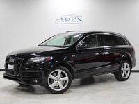 Audi Q7 3.0T S line 1 Owner Cold Weather Pkg Navi Pano Roof 2011