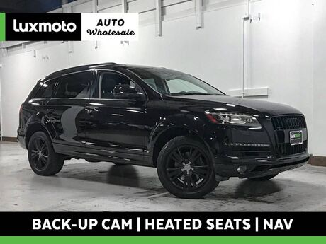 2011 Audi Q7 TDI Premium Plus quattro Nav Back-Up Cam 3rd Row Portland OR