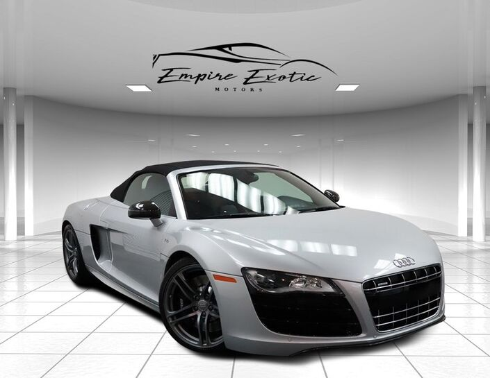 2011 Audi R8 5.2 SPYDER *CARBON FIBER SIGMA *MSRP WHEN NEW $194,125!!* Addison TX