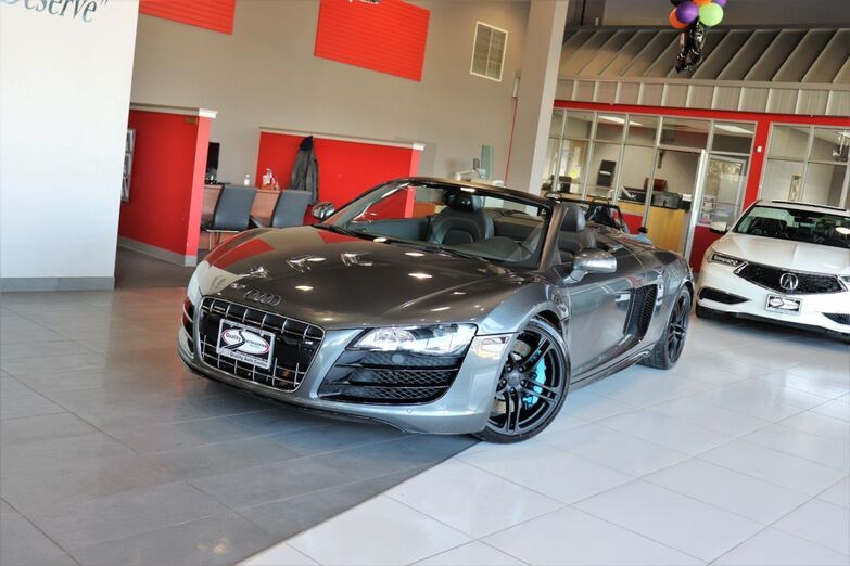 2011 Audi R8 5.2L Enhanced Leather Package 19 Inch Titanium Alloy Navigation Springfield NJ