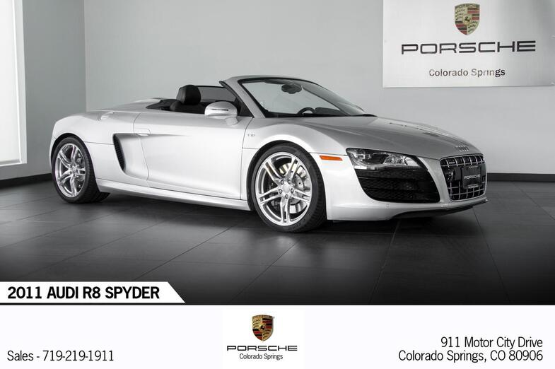 2011 Audi R8 R8 Spyder Colorado Springs CO