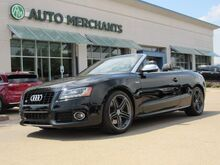 2011_Audi_S5_3.0T Cabriolet quattro S tronic LEATHER, HTD FRONT STS, NAVIGATION, BACKUP CAMERA, BLUETOOTH CONNECT_ Plano TX