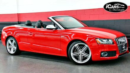 2011_Audi_S5_Premium Plus 2dr Convertible_ Chicago IL