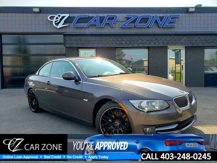 2011 BMW 3 Series 328i Convertible Calgary AB