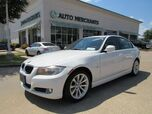 2011 BMW 3-Series 328i SA SULEV LEATHER, NAVIGATION, BLUETOOTH, SUNROOF, HTD FRONT STS, KEYLESS ENTRY