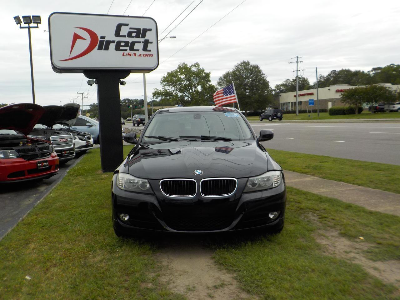 2011 BMW 328I SULEV RWD, WARRANTY, KEYLESS START, TINTED WINDOWS, MEMORY SEATS, HEATED SEATS, AUXILIARY PORT! Virginia Beach VA