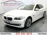 2011 BMW 5 Series 3.0L V6 Engine 535i xDrive AWD w/ Sunroof, Navigation, Bluetooth