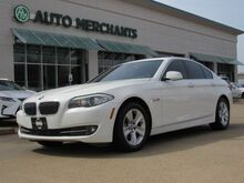 2011_BMW_5-Series_528i LEATHER, NAV, BULETOOTH CONNECTIVITY, PUSH BUTTON START, DRIVER POSITION PRESETS_ Plano TX
