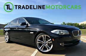 2011_BMW_5 Series_528i M-SPORT PACKAGE, LEATHER, NAVIGATION, SUNROOF, HEATED AND COOLED SEATS... AN_ CARROLLTON TX