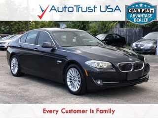 BMW 5 Series 535i xDrive CLEAN CARFAX NAV SUNROOF LOW MILES 2011