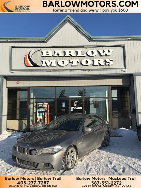 2011 BMW 5 Series 535i xDrive Calgary AB