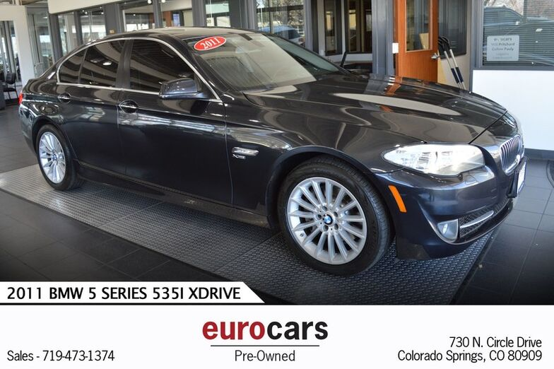 2011 BMW 5 Series 535i xDrive Colorado Springs CO