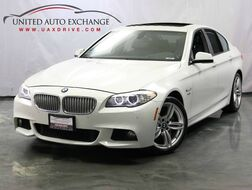 2011_BMW_5 Series_550i M-Sport Package / xDrive AWD / 4.4L Turbocharged V8 Engine / Navigation / Sunroof / Bluetooth / Parking Aid with Rear View Camera_ Addison IL