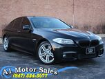 2011 BMW 5 Series 550i xDrive M Sport/Premium/Cold Weather Pkg Tints