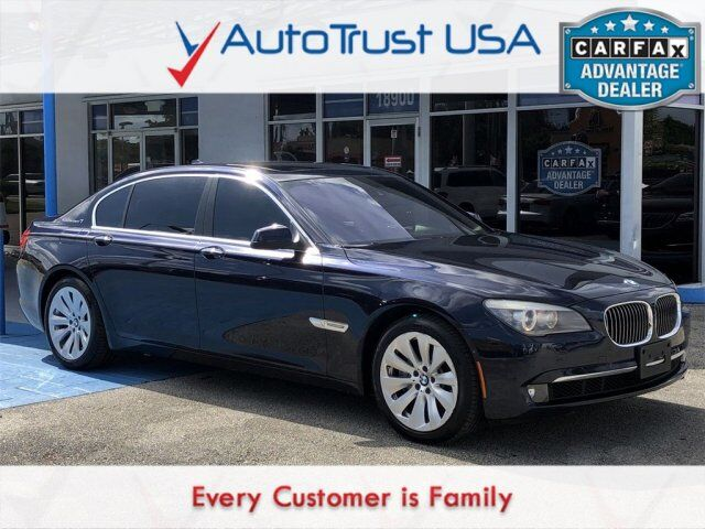 2011 BMW 7 Series ActiveHybrid 750Li Miami FL