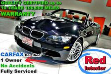 2011 BMW M3 CARFAX Certified 1 Owner - No Accidents - Fully Serviced - QUALITY CERTIFIED up to 10 YEARS 100,000 MILES WARRANTY - 4.0L V8 S/C 414 HP - Hard Top Convertible -