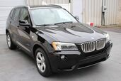 2011 BMW X3 28i 3.0L I6 xDrive AWD Navigation Leather Sunroof