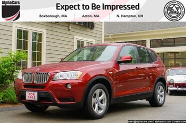 2011_BMW_X3_28i_ Boxborough MA