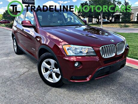 2011 BMW X3 28i NAVIGATION, REAR VIEW CAMERA, LEATHER, AND MUCH MORE!!! CARROLLTON TX