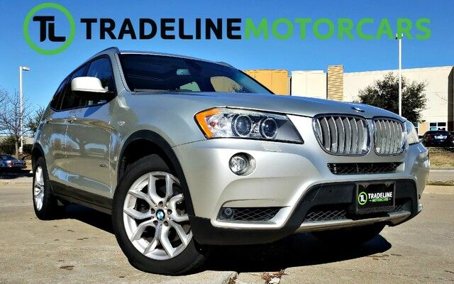 2011 BMW X3 35i PANO SUNROOF, NAVIGATION, LEATHER, AND MUCH MORE!!! CARROLLTON TX