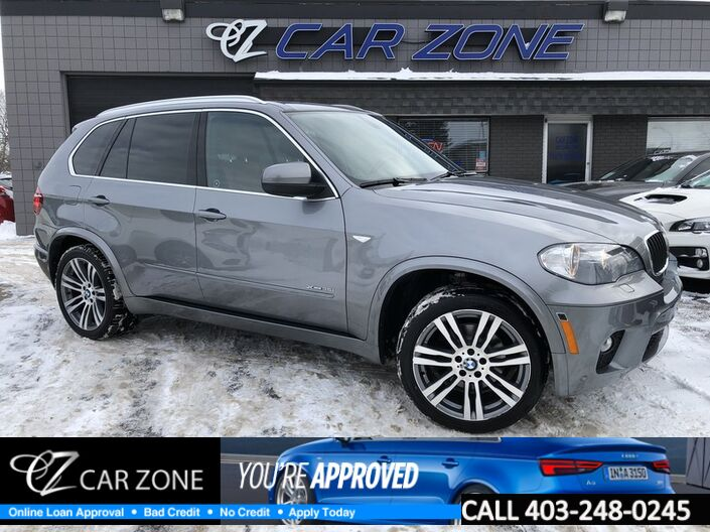 2011 BMW X5 35i M-sport Package Easy Loans Calgary AB