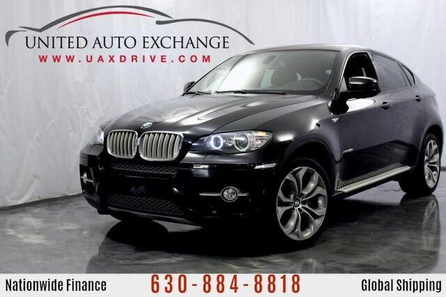 2011 BMW X6 4.4L V8 Engine 50i AWD xDrive w/ Running Boards, Navigation, Power Sunroof, Bluetooth Connectivity, USB & AUX input, Front and Rear Parking Aid with Rear View Camera Addison IL