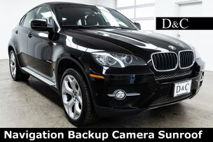 2011 BMW X6 xDrive35i Navigation Backup Camera Sunroof
