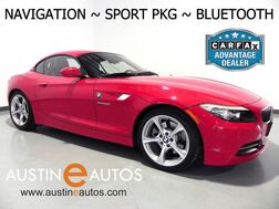 2011_BMW_Z4 Roadster sDrive30i_*NAVIGATION, SPORT PACKAGE, KANSAS LEATHER, M SUSPENSION, ALLOY WHEELS, USB INPUT, BLUETOOTH PHONE_ Round Rock TX