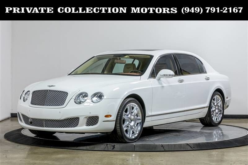 2011 Bentley Continental Flying Spur Mulliner $224,055 MSRP Costa Mesa CA