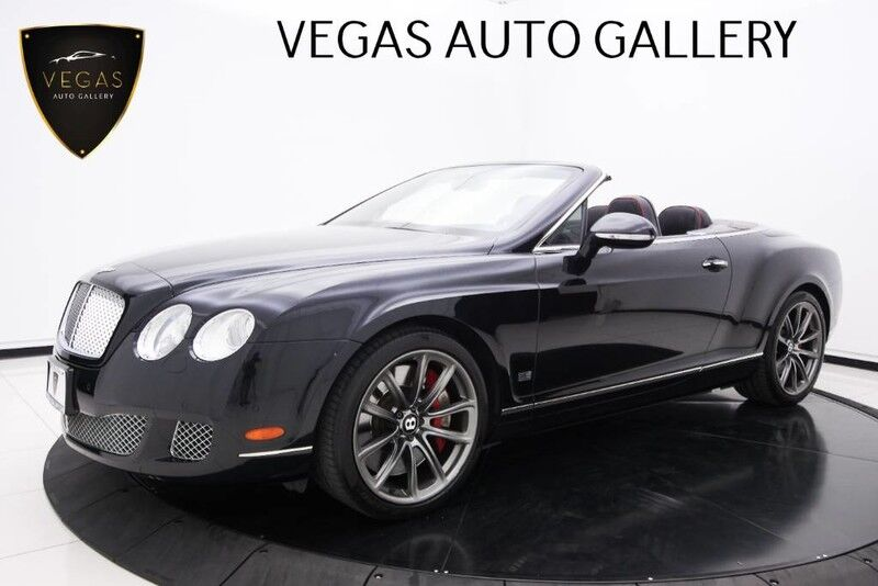 2011 Bentley Continental GT Speed 80-11 Edition