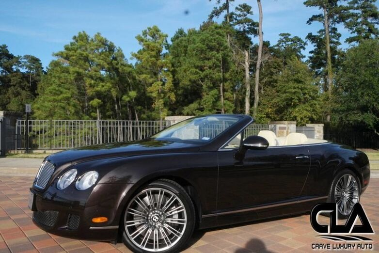 2011 Bentley Continental GT Speed The Woodlands TX