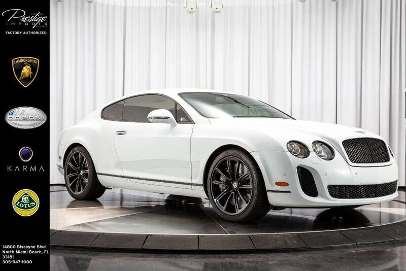 2011_Bentley_Continental_Supersports_ North Miami Beach FL