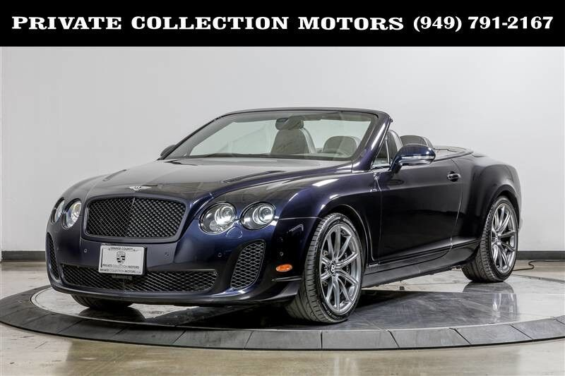 2011 Bentley Continental Supersports Only 35k Miles Costa Mesa CA